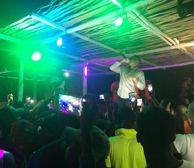 Concert Singer Otile Brown